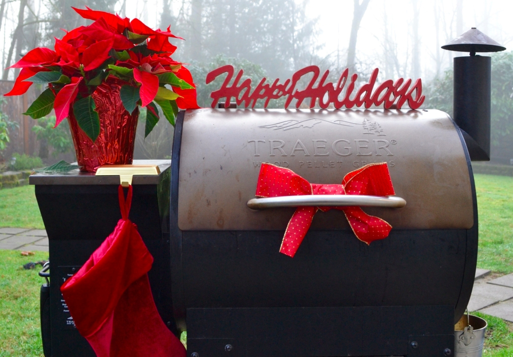 Traeger Happy Holidays