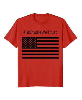 #InSmokeWeTrust BBQ T-Shirt